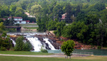Falls in Ticonderoga